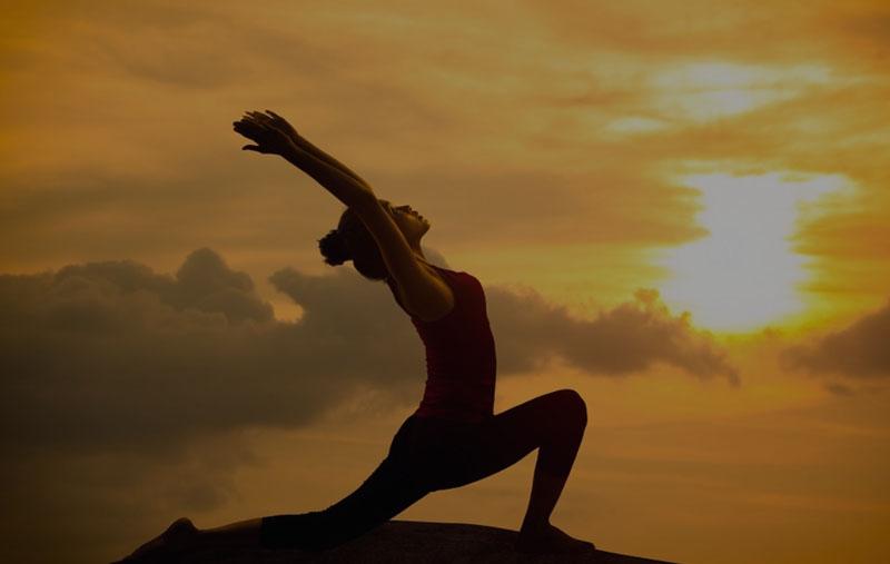 Práctica yoga en Valladolid